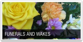 Funeral arrangements by Becky's Flowers florist in Bathgate, West Lothian